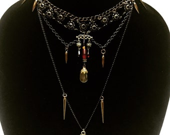 Vampire Goddess Necklace