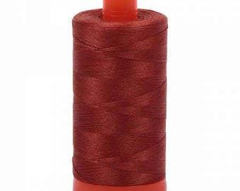 Aurifil Mako Cotton Thread Solid 50wt 1422yds Copper 1050-2350