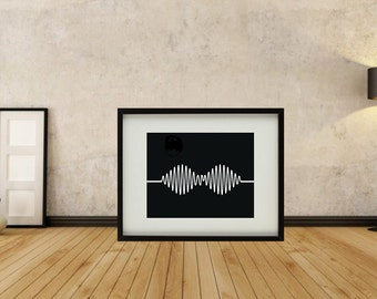 Arctic Monkeys - AM Framed Print