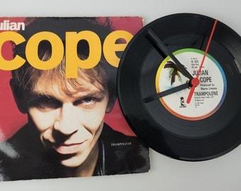 "Julian Cope - 'Trampolene' 7"" Record Clock"
