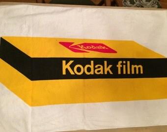 Vintage KODAK film beach towel. Never been used.
