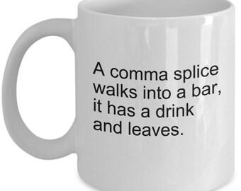 Image result for grammar humor comma splice