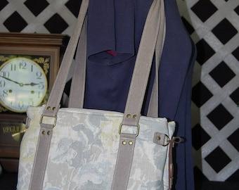 Free Shipping! Handbag, Shoulder Bag, Tan, Gray, Yellow, Brown, Carriers Conquest