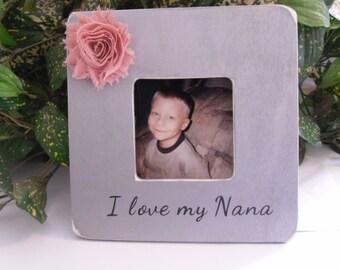 Nana photo frame,  Nana gift,  Nana Frame,  Mother's day frame, Frame for Nana,  Gift for Nana,  Grandma fram,  Birthday gift for Nana.