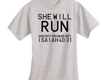 SHE WILL RUN