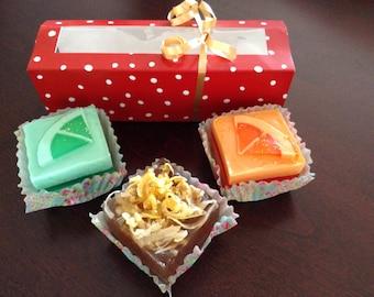 Savon petits fours / Petits fours soap
