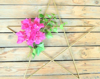 Decorative iron star. Several colors available.