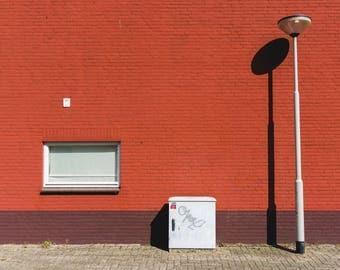 Photo: Minimalism street scene