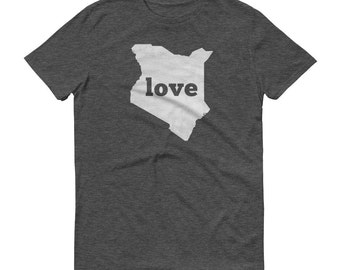 Kenya, Kenyan Clothing, Kenya Shirt, Kenya T Shirt, Kenya TShirt, Kenya Map, Kenyan Gifts, Made in Kenya, Kenya Love Shirt, Kenyan Dress