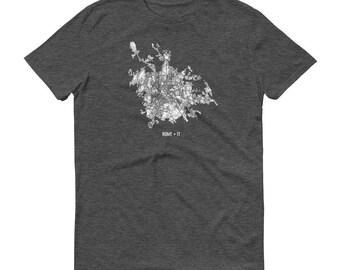 Rome Shirt, Rome Italy, Rome TShirt, Rome Gift, Rome Tee, Rome Map, Italy Shirt, Italy Map, Italian Art, Italia, Italian Shirt, Roma