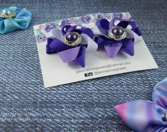 Twisted Flower Hair Clip