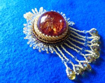 """Pendant """"Crimson autumn"""""""