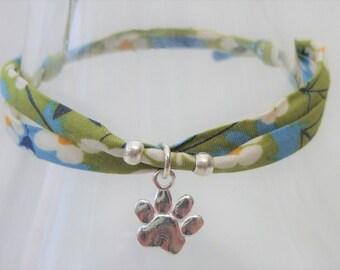 Paw print bracelet, pet loss gifts, pet loss bracelet, animal lover gift