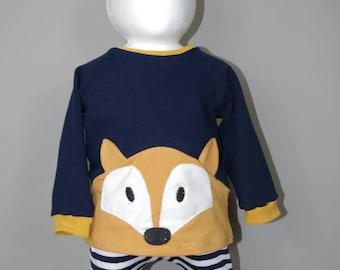 "sweet Sweatshirt ""Mr. Fox"""