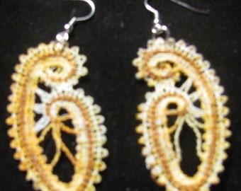 Jen Embroidered Earrings