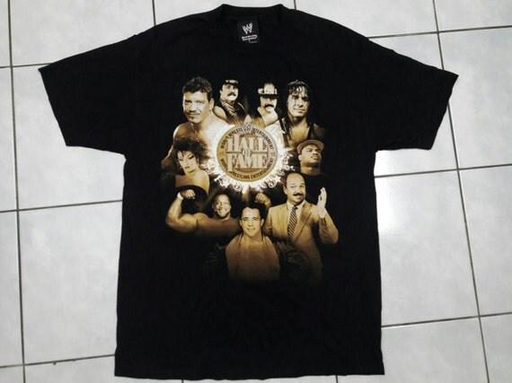 Wwe world wresling entertainment Hall Of Fame t-shirt wwf-large