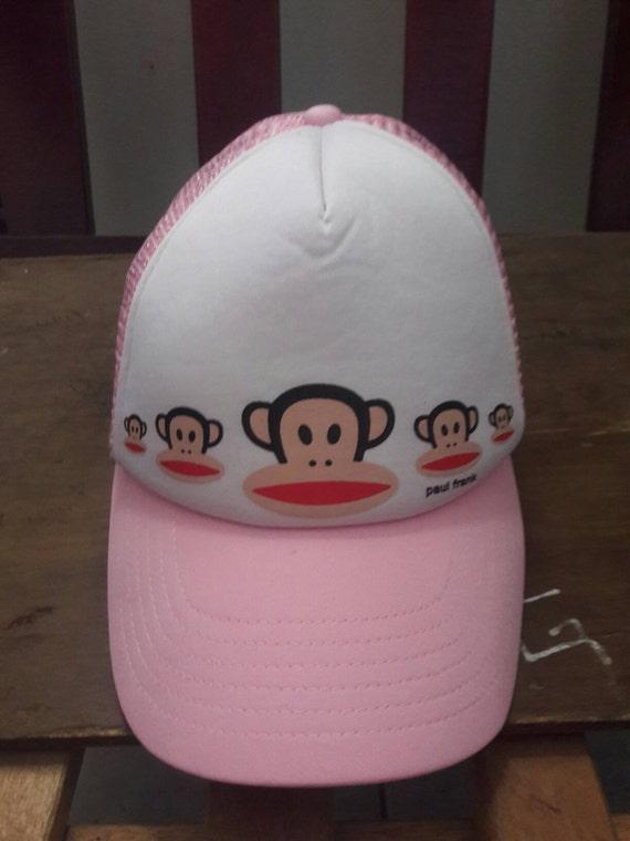 Buy 1 Free 1 vintage Paul Frank pink hat cap