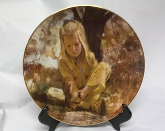 Sand In Her Shoe Collectors Plate
