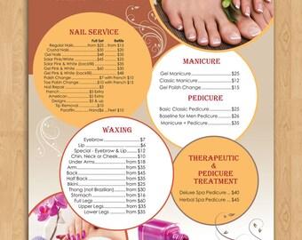 Price List Design for Nail Salon (DESIGN)