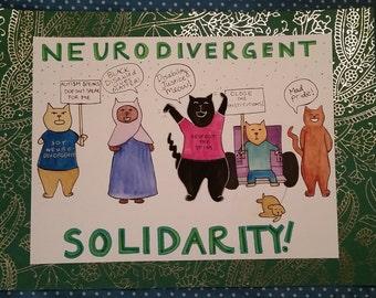 Neurodivergent Solidarity!