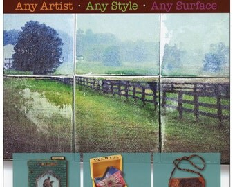 Creative Image Transfer Book - 16 Projects