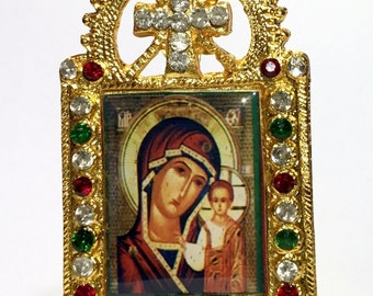 Mother of Kazan Icon Photo Frame