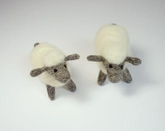 1 sweet sheep felted