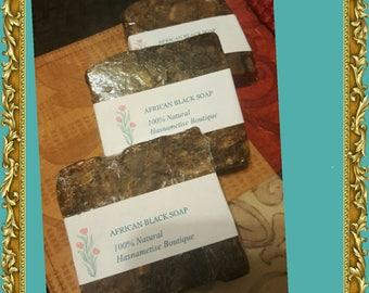 Sale! 3 Bars xTop Quality Organic Vegan Natural African Black soap