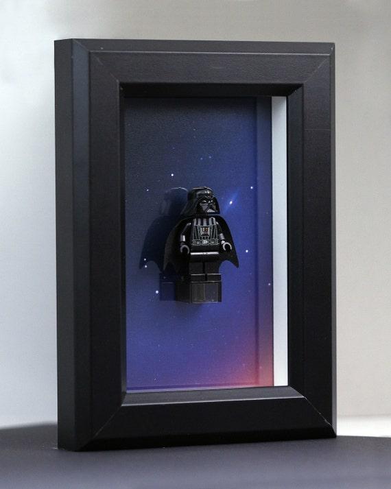 Darth Vader - Framed LEGO® Star Wars® minifigure