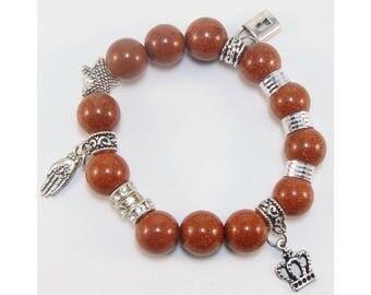 Aventurine bracelet (handmade)(B1-1)