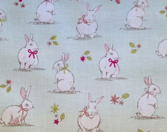 Spring Bunny Rabbit Fabric