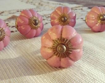 Set of drawers porcelain - Vintage buttons