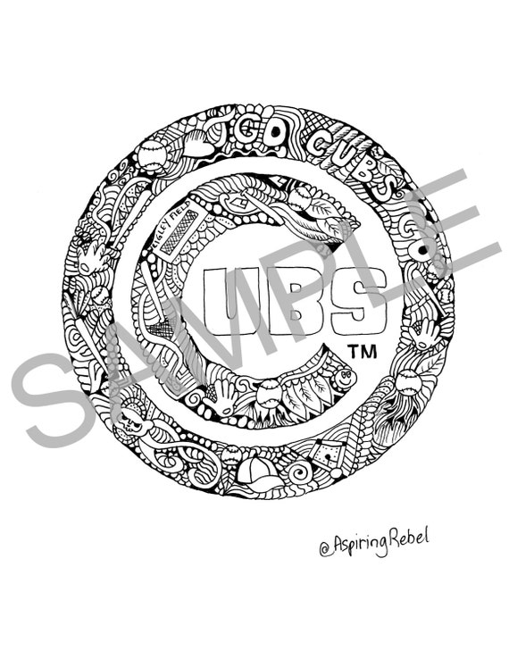 chicago cubs printable coloring pages - photo#33