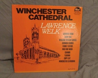 """Lawrence Welk Winchester Cathedral 12"""" LP"""