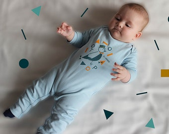 Organic baby jumpsuit