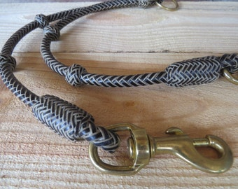Leather Dog Leash, Dog Leash, Coupler, Dog Leash Splitter, Dog Collar, Handmade, Double Leash, Two Dog Leash, Dual Lead, Dog Leash Coupler