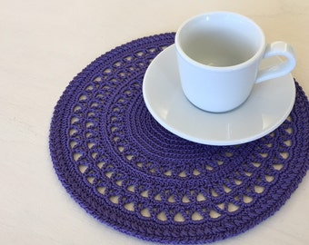Crochet doilies  Doily fo kitchen Home decor  Round doily  Crochet doilies  Cod. CT23