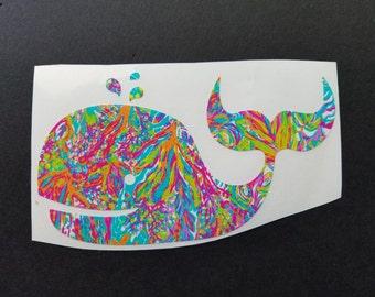 Whale Vinyl Decal