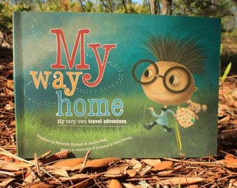PERSONALIZED KIDS BOOK - A Unique Story Based on the Letters of a Child's home country - Amazing Gift - Next Day Dispatch