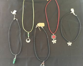 Assorted Pendant Necklaces