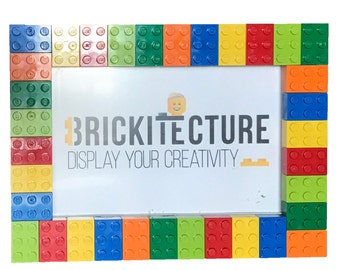 "5""x7"" Picture Frame - Bright LEGO"