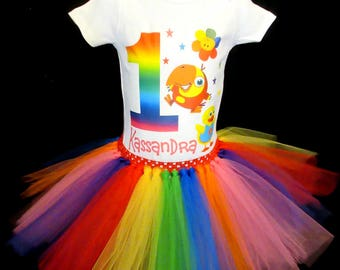 BabyFirst TV Birthday Outfit