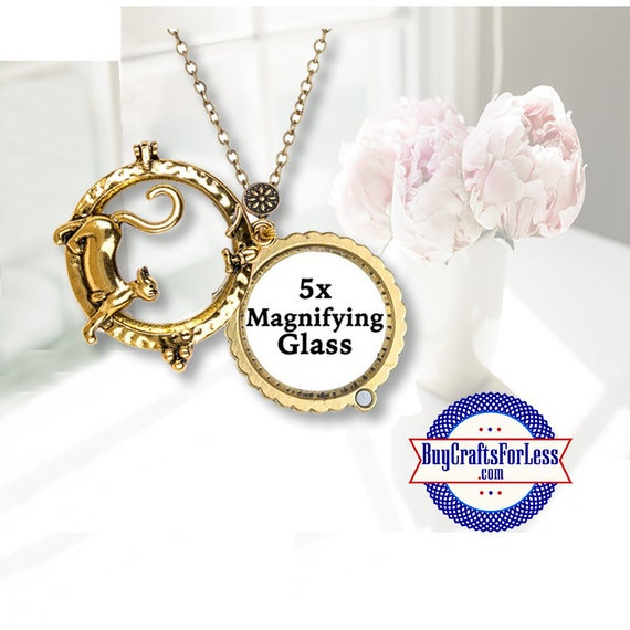 Magnifying Glass, KITTY CAT  **99cent shipping-FREE with orders of 10 dollars+ **