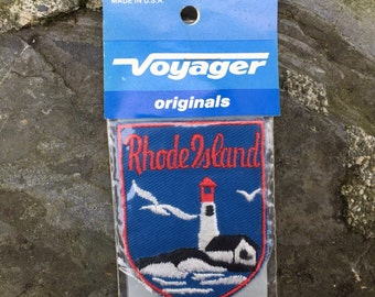 Rhode Island Patch | Voyager Patch | Original | Vintage | Fashion & Style