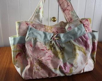 Overnight bag/ NappyBag/Weekend Bag/Craft Bag/Ready to ship