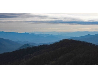 Great Smokey Mountains, Canvas