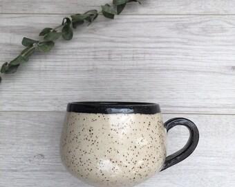 Pottery Mug | Latte Mug | Handmade Pottery