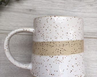 Pottery Mug   Ceramic Coffee Mug   Handmade Mug
