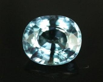3.01 ctw. alexandrite color change loose gemstone.