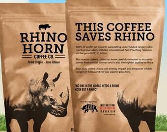 Rhino Horn Coffee BEANS 250g